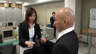 Amazing Japanese model Nanako Hirai in Horny POV, Office JAV scene