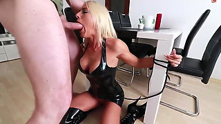 Sperm and Pee abused Blonde