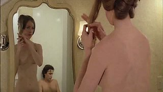 Naked Beauty Camille Keaton Prepares To Give Her Man a Soapy Bath