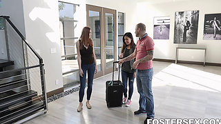 Foster Daughter Lillian Stone Caught Stealing And Punished Elle Voneva