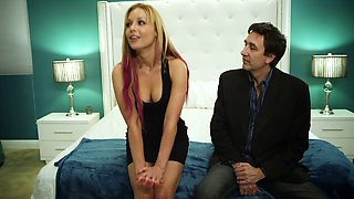 Red hot Kayden Kross hooks up with a guy and gets fucked