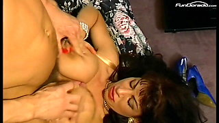 Milf with real Monster Tits got banged by fitness teacher