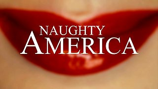 Naughty America NEW RELEASE: Nicole Aniston wife creampie!