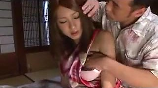 Lonely Housewife Secudes By Step Father
