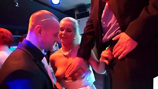 Bride drilled during orgy