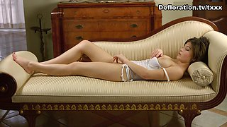 DeflorationTv Video: Alesya Gagarina - Hardcore Defloration