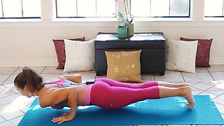 Fitness hot ass hot cameltoe 107(yoga)