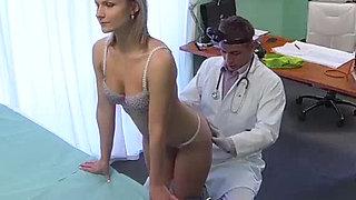 Patient wants her doctor's cock