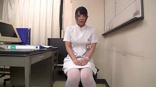 Amazing Japanese girl in Crazy Striptease, Nurse JAV clip