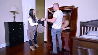 Aaliyah Hadid makes all men into cheaters - Brazzers