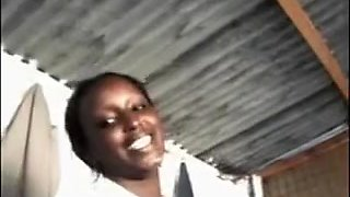 African Keynan blowjob