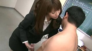 Crazy Japanese slut in Amazing Rimming, CFNM JAV scene