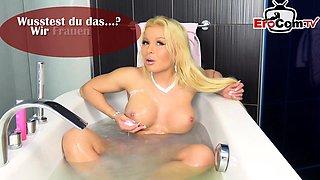german amateur blonde milf homemade fuck by bbc