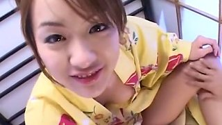 Crazy Japanese girl Izumi Hasegawa in Exotic POV, Blowjob/Fera JAV movie