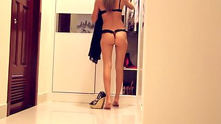Horny homemade Strapon adult video