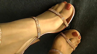 Wifes Heels and Feet play