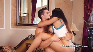 Moriah mills gets fucked showing house to couple