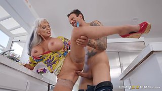 Sally D'Angelo & Alex Legend in Can You Help My Mom - BRAZZERS
