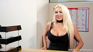 Nicolette Shea is a hot blonde craving a cock ride
