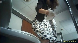 Church female toilet hidden cam (part 2)