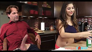 Teen step daughter nina north fucked by step dad