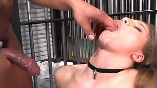 Young Sucker Blows Her Man Through Bars