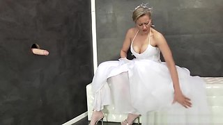 Bride Slut Gets Bukkaked