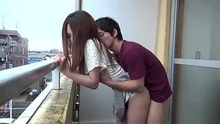 Hottest Japanese girl in Crazy Wife, Small Tits JAV clip
