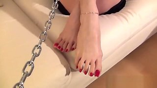 Astonishing adult video Feet wild will enslaves your mind