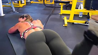 Yes fitness hot ass hot cameltoe 118