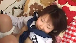 Aki Nagase in niform Purity School