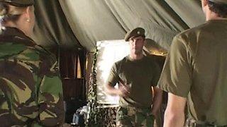 Classic alyssa jenkins military fuck camp