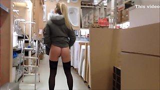 I expose my sweet German twat in amateur blonde clip