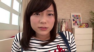 Hottest Japanese whore Madoka Asamiya in Incredible Masturbation/Onanii, POV JAV movie