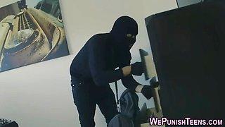 teen burglar fucked rough