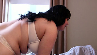 Cock gobbling big milf gets pounded