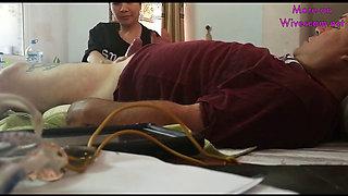 Mature chinese hidden cam blowjob