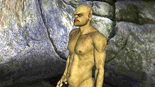 3d animated fantasy cavelust