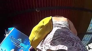 Spying Mature Upskirt Big Butt - Ass Voyeur - Candid Booty