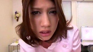 Incredible Japanese whore Nina in Exotic POV, Nurse JAV video