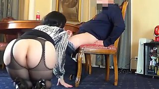 Russian assistant fucks her boss