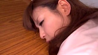 Sultry Japanese AV Model in a school uniform gets group action