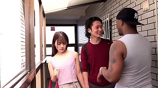 Japanese AV Models enjoying interracial hardcore group sex