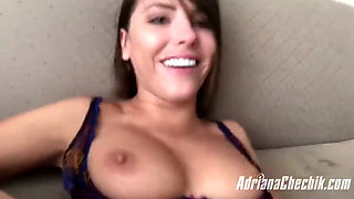 Adriana Chechik POV Style Anal With Squirting and Fisting