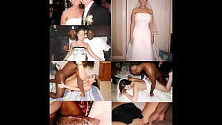 wedding dress before during after wife husband cuckold milf