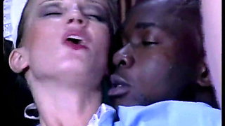 Daniella Schiffer - White maid fucked by a horny black guy
