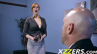 Lauren Phillips Her New Job Secretary