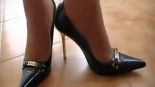 Horny homemade High Heels, Fetish xxx scene