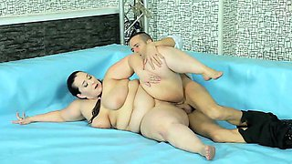 Exciting lesbo toying and fucking after BBW wrestling match