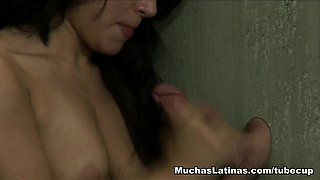 Best pornstar Gabriella Paltrova in Exotic Blowjob, Brunette xxx scene